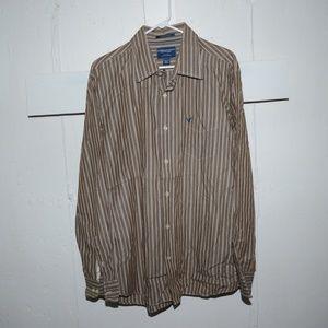 American eagle button down shirt size XXL J81
